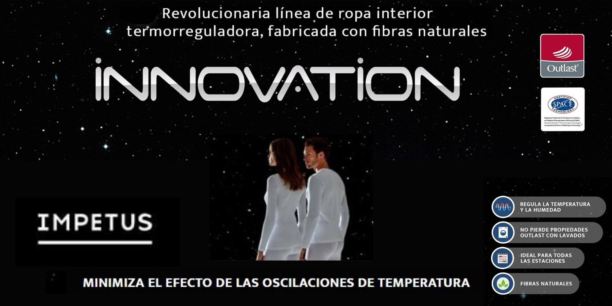 INNOVATION IMPETUS THERMOREGULADORAS